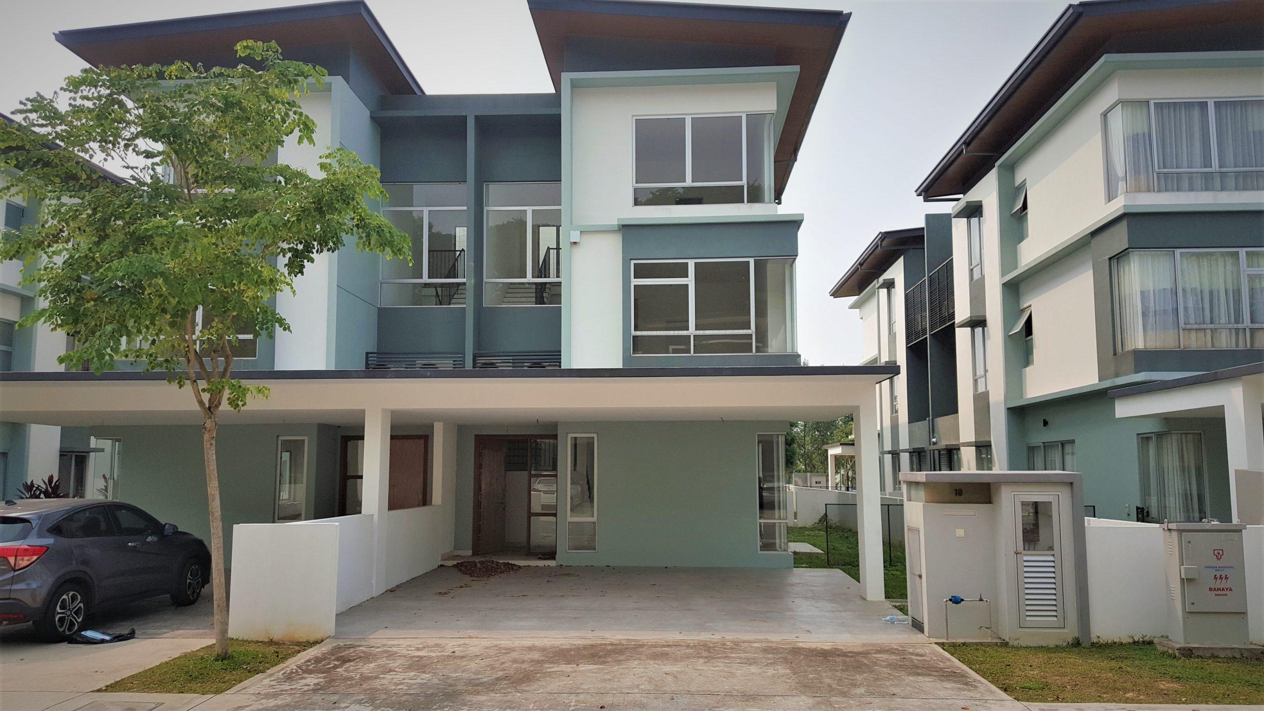 BELOW SPA PRICE 3 Storey SEMI D Parkfield Residences Tropicana Heights Kajang